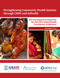 Strengthening Community Health Systems through CHWs and mHealth