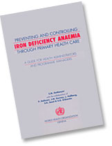 Preventing and Controlling Iron Deficiency Anaemia Through Primary Health Care