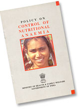 Policy on Control of Nutritional Anaemia