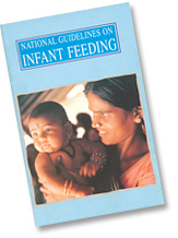 National Guidelines on Infant Feeding