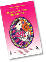 National Guidelines on Infant and Young Child Feeding - Aug 2004